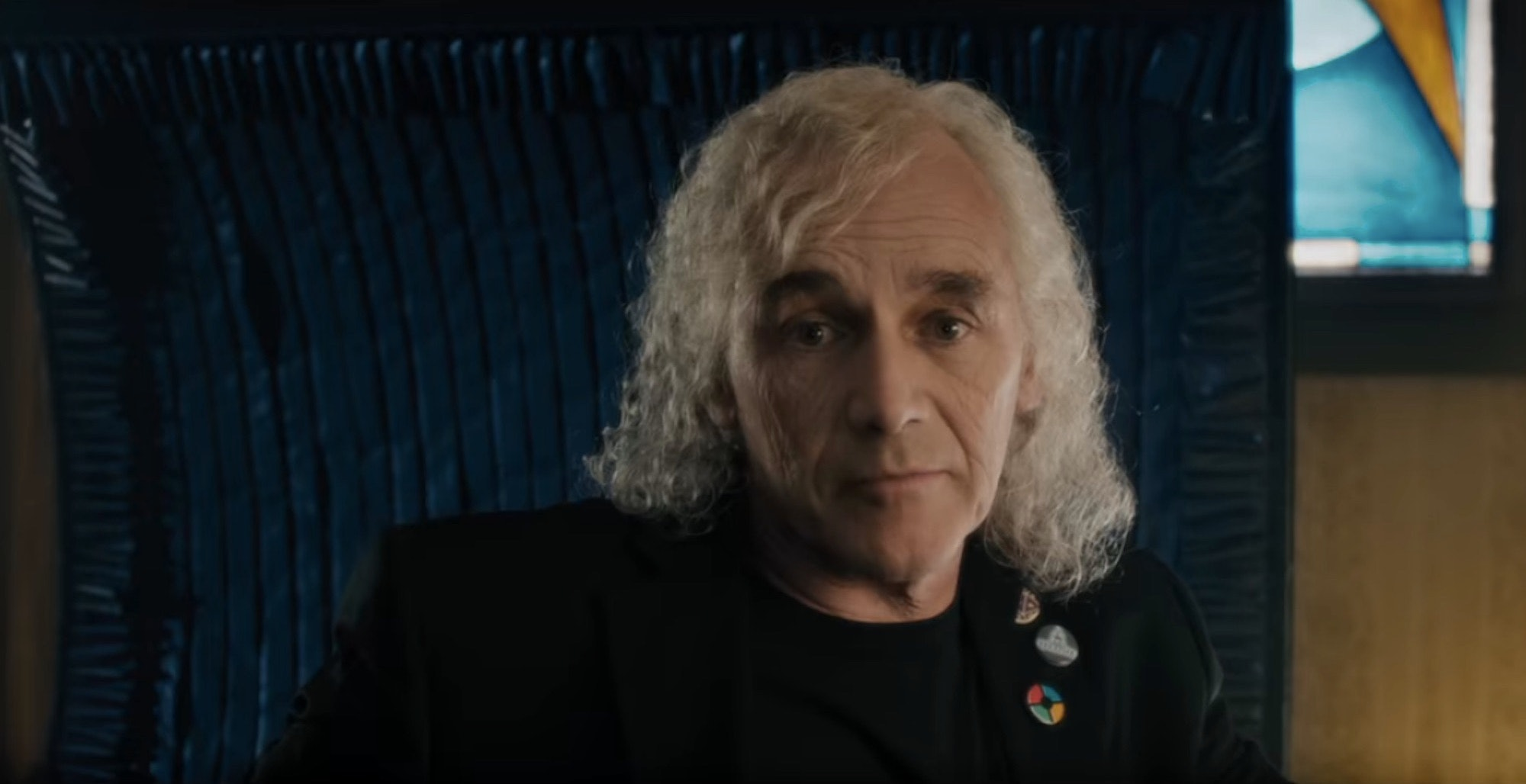 James Halliday (Mark Rylance) as he appears in the 'Ready Player One' movie.