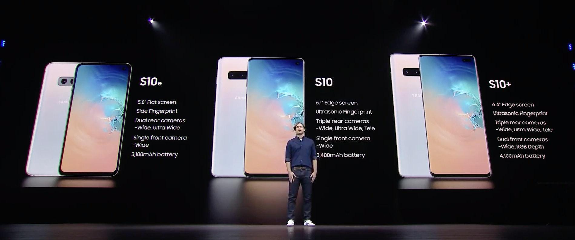 samsung S10 models