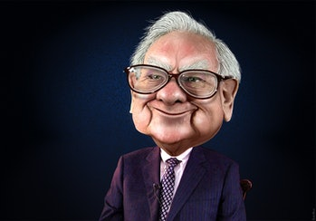 Warren Buffett - Caricature