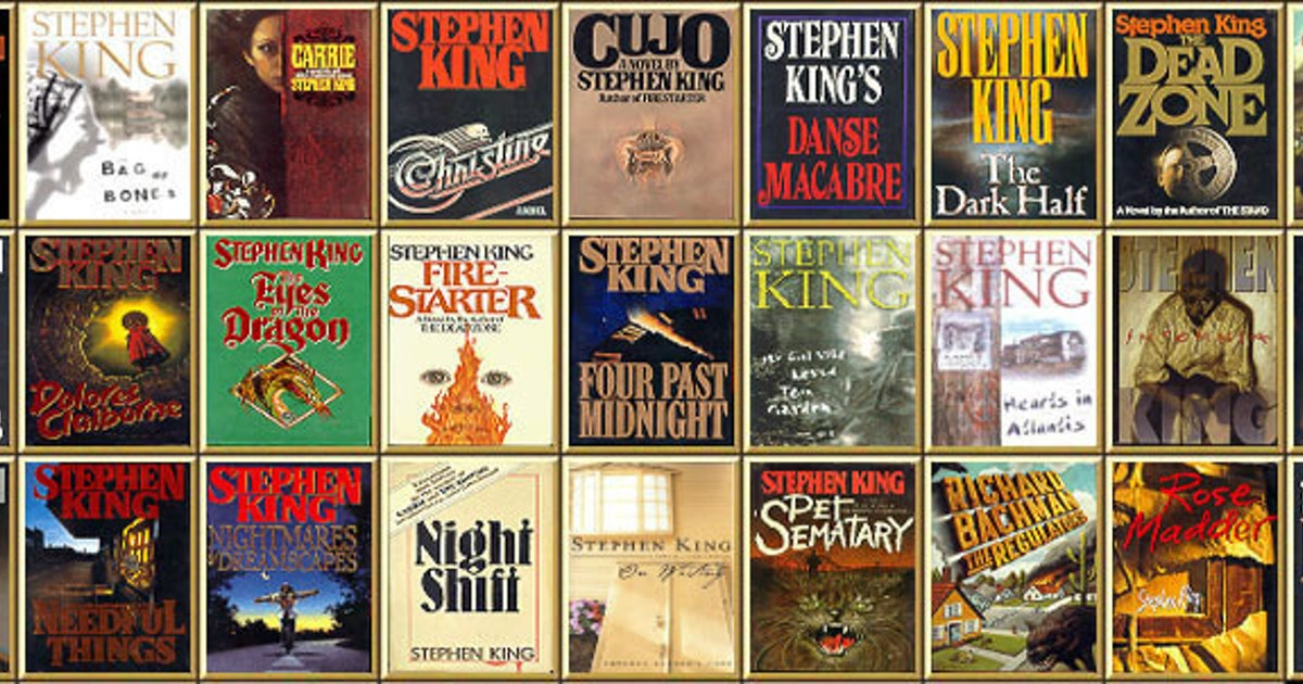 Stephen King for Beginners: Which Stephen King Novels to Read First