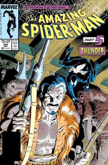 kraven the hunter spider-man