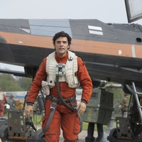Poe Dameron's X-Wing Flies Above New 'Star Wars' Land