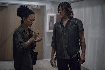 amc walking dead season 9 episode 13 daryl connie