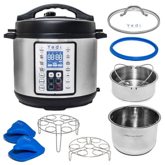 Yedi 9-in-1 Instant Programmable Pressure Cooker with Deluxe Accessory Kit