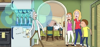 rick and morty goose game