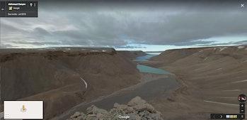 Google Street View/SETI Institute