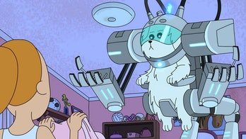 Snuffles parted on good terms with Morty to createa civilization of intelligent dogs in an alternate reality.