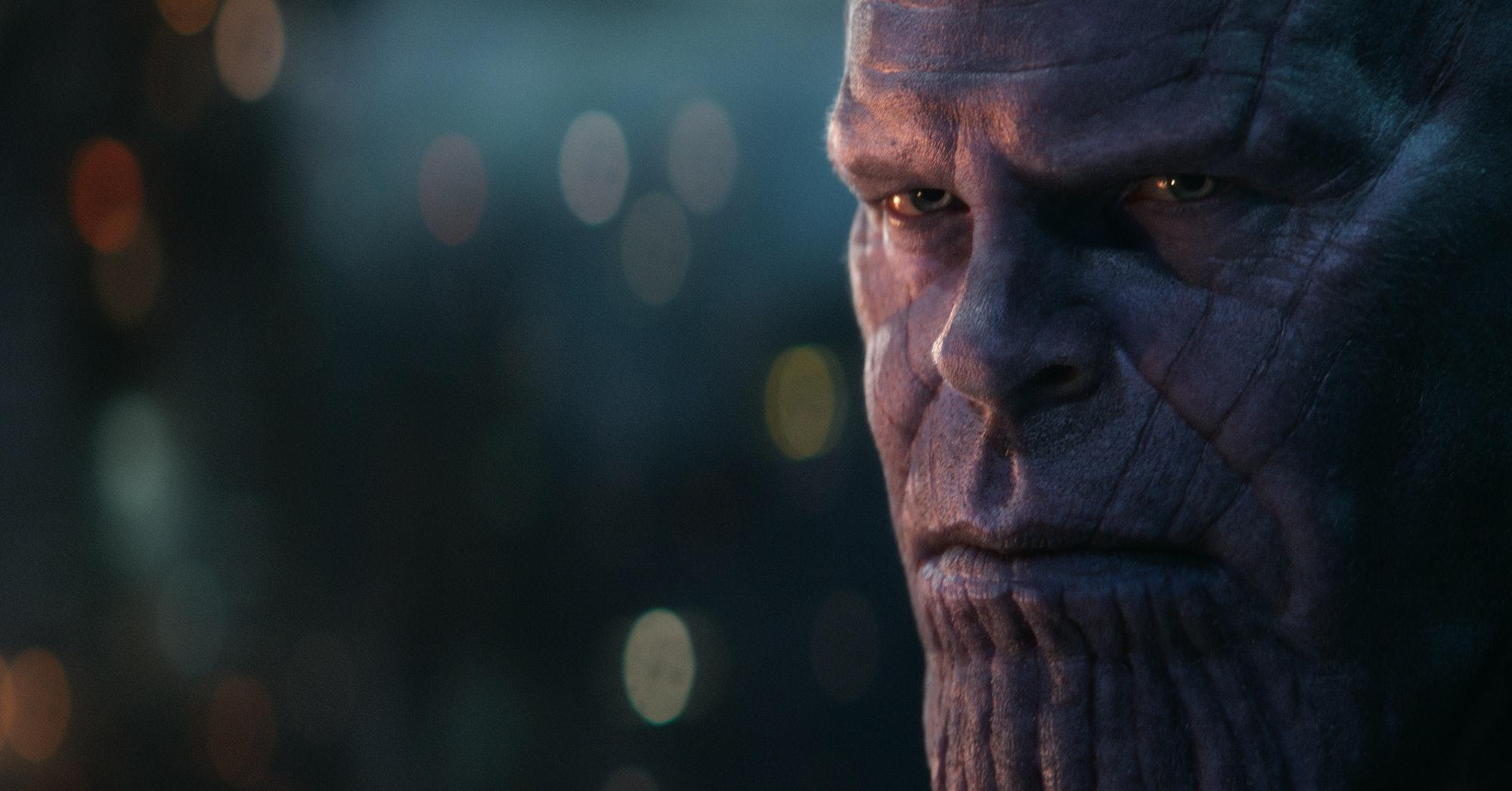 Avengers Infinity War Thanos
