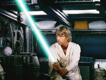Star Wars The Rise of Skywalker Luke lightsaber