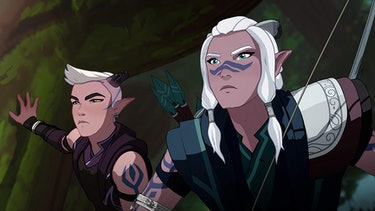 the dragon prince review netflix avatar last airbender