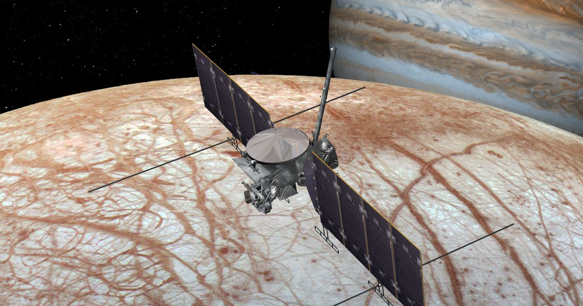 NASA's New Mission to Europa Is All About Finding Aliens