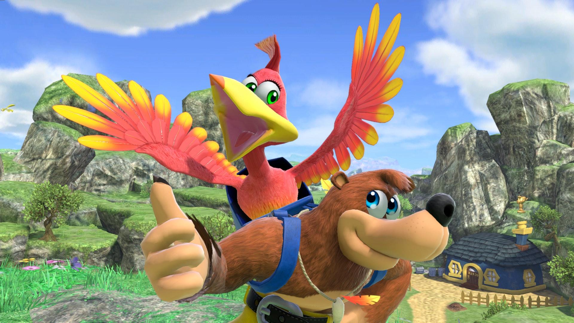 Super Smash Bros Ultimate Banjo and Kazooie