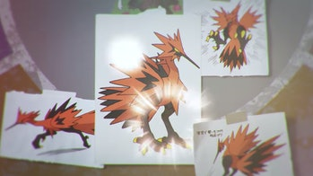 pokemon sword and shield zapdos