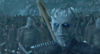 The Night king in 'Game of Thrones'