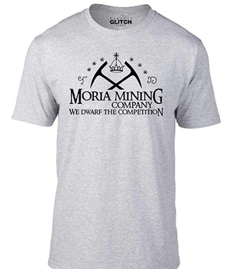 Bullshirt Men's Moria Mining Company T-Shirt