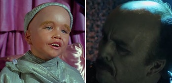 Clint Howard in 'Star Trek' then and now.