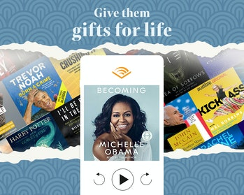 Three months of audio books from Audible