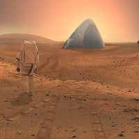 Future Mars Residents Might Live in Ice Houses