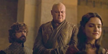 Varys and Kinvarra in 'Game of Thrones'