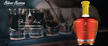 Star Trek James Kirk Bourbon Whiskey