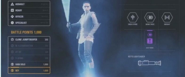 Rey's Lightsaber might also be blue, but that hilt is definitely not the Skywalker saber.