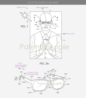 AR apple smart glasses