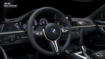 An internal image of the car
