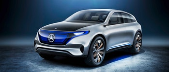 mercedes electric vehicle