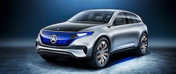 mercedes electric vehicle