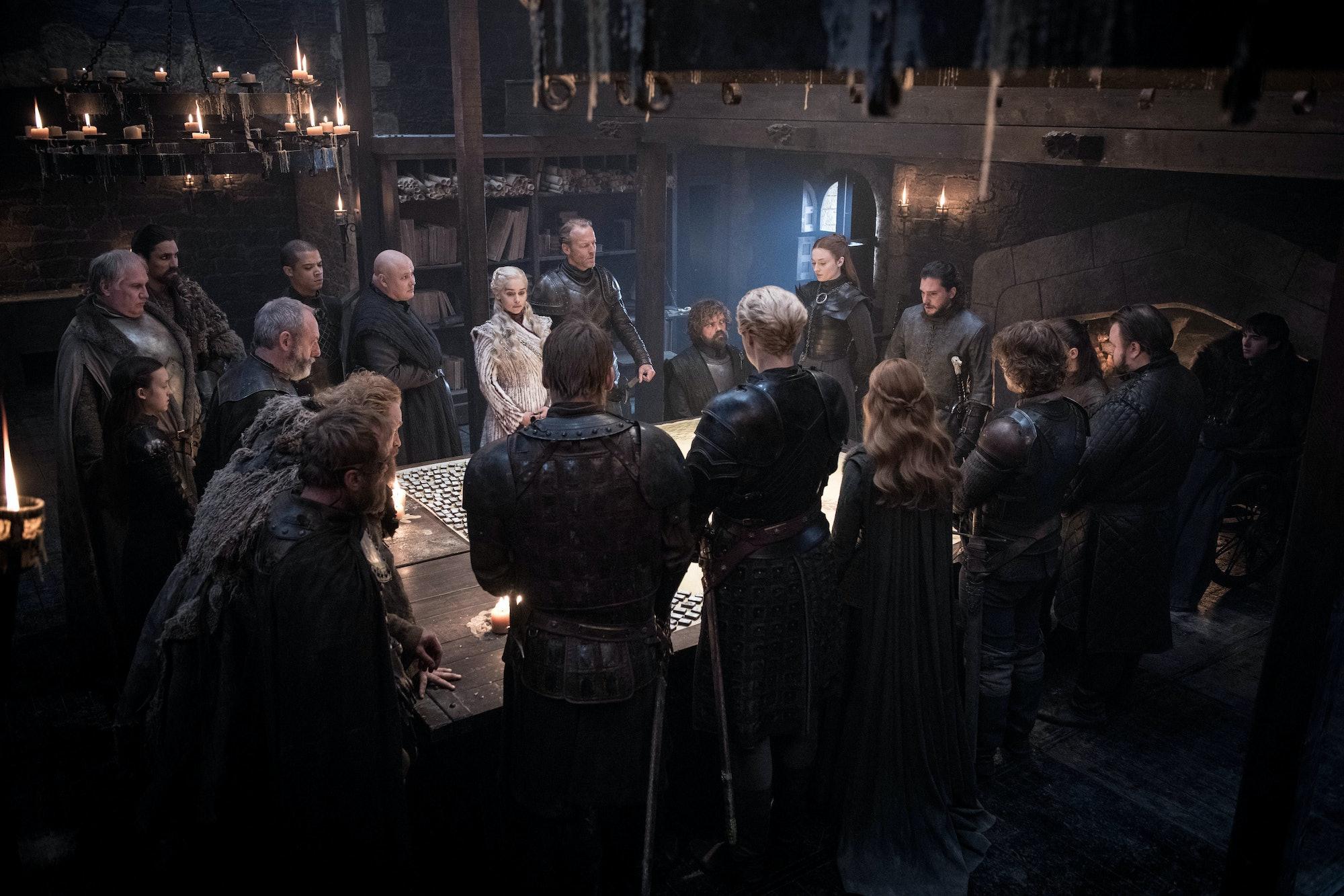Game of Thrones Season 8 Night King Winterfell