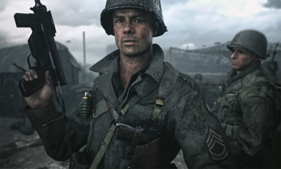 Josh Duhamel playsSgt. William Pierson in 'Call of Duty: WWII'.