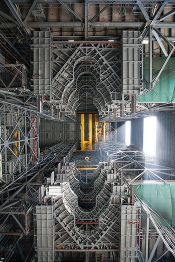 VAB view from the floor