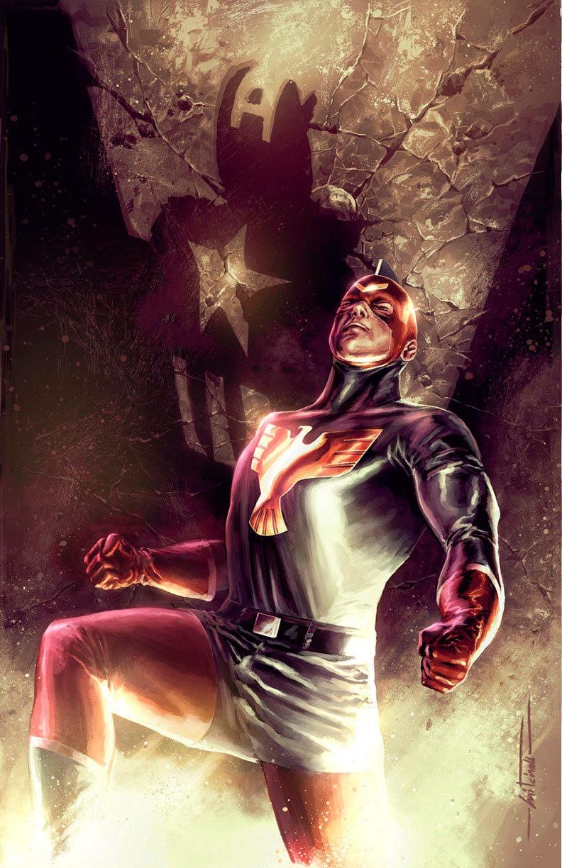 Marvel Patriot Captain America Jeffrey Mace