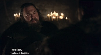 Mark Addy in 'Game of Thrones' Season 1