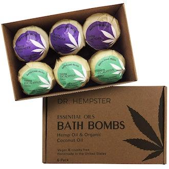 Dr. Hempster Hemp and Essential Oil Bath Bombs