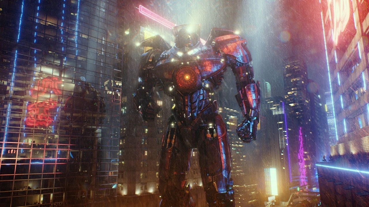 Lighting in the first 'Pacific Rim.'