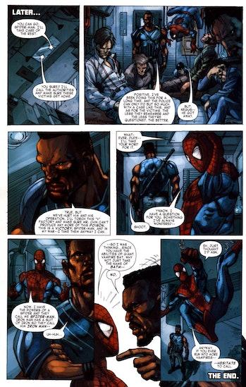 Spider-Man Blade
