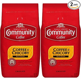 Community Coffee and Chicory, Medium Dark Roast