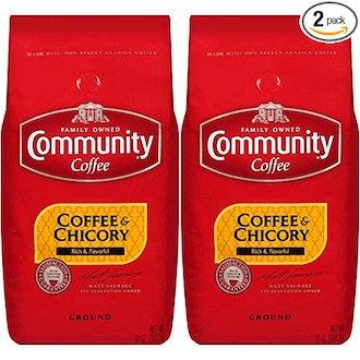 Community Coffee and Chicory, Medium Dark Roast