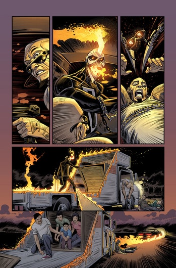 Preview for Marvel's All-New Ghost Rider #1
