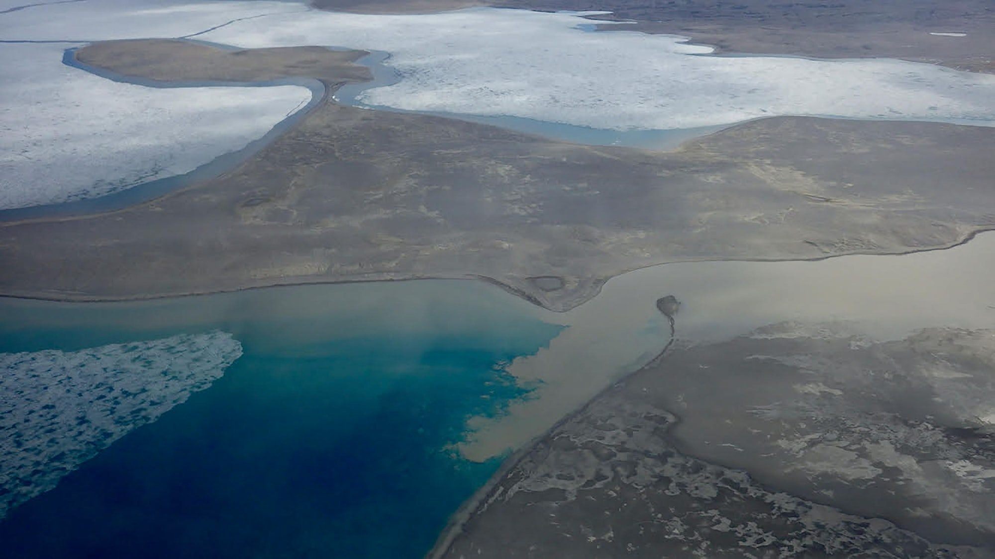 The researchers examined the watershed of Lake Hazen, an Arctic lake in Canada that's fed by several glaciers.