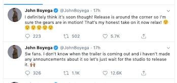 john boyega star wars 9 trailer 3 twitter