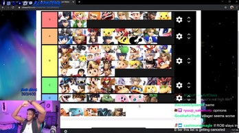 smash bros ulitmate 6.1 tier list