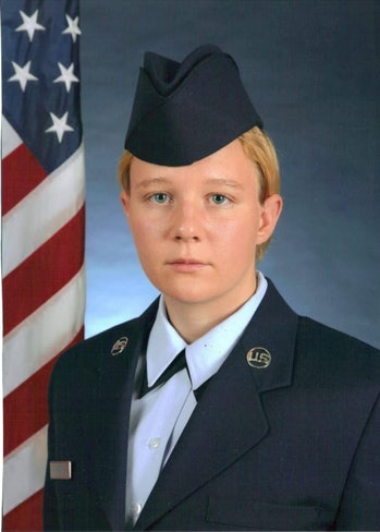 Reality Winner in the US Air Force.