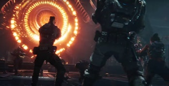 "Still from 'Gears 5' ""Escape"" E3 2019 Trailer."