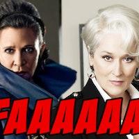 Meryl Streep Playing Leia in 'Episode IX' is 'Star Wars' Fake News