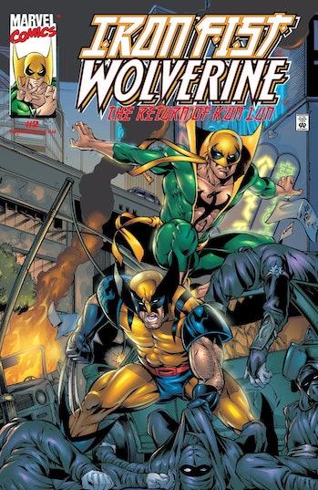 Iron Fist Marvel Wolverine