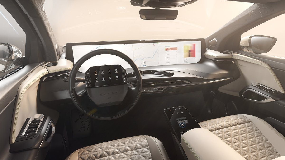 The M-Byte's interior design.