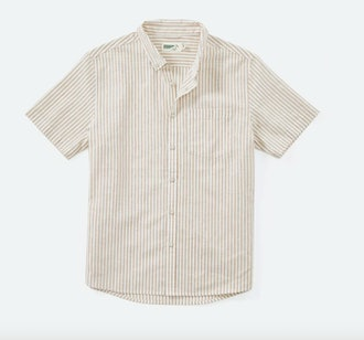 Wellen  Cotton-Linen Short Sleeve Shirt