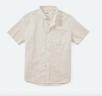 Wellen Cotton-Linen Short Sleeve Shirt